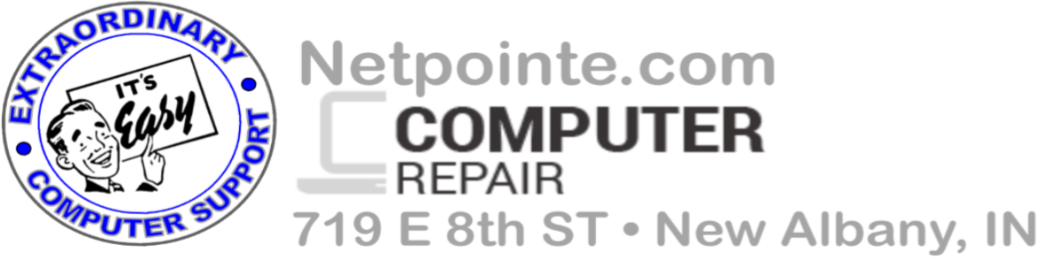 Netpointe.com computer repair service - New Albany, IN
